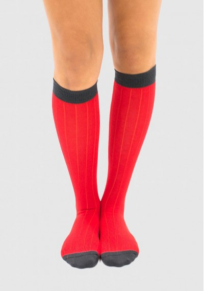 Two-coloured Sock