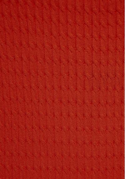 Red knitted tank top -  Compañía Fantástica