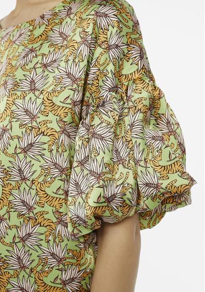 Tiger print shift dress -  Compañía Fantástica