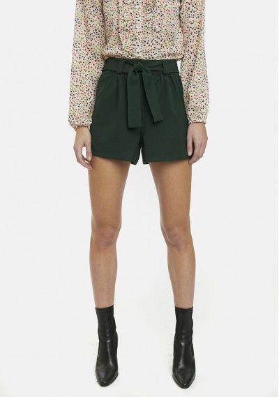 Green shorts with pockets...