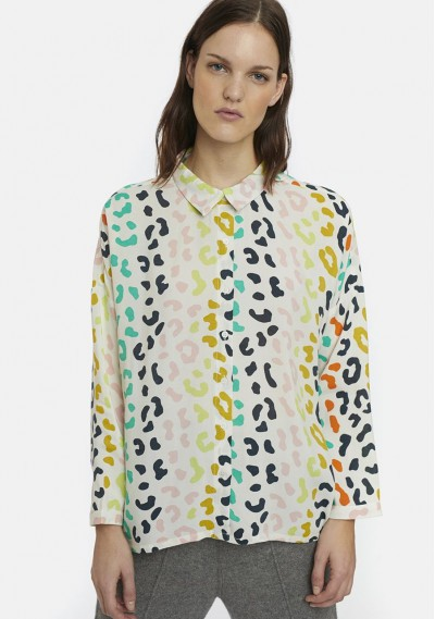 Oversize shirt with...