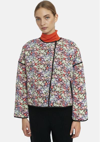 Black padded jacket with...
