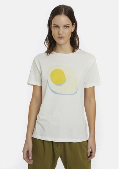Camiseta manga corta huevos...