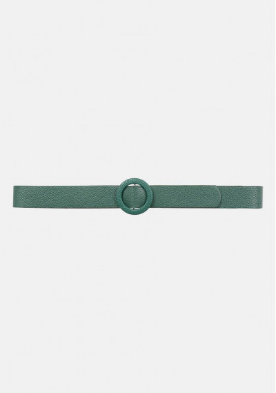 Wide belt with circular...