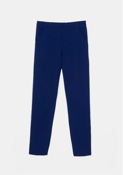 Pantalón tobillero recto azul -  Compañía Fantástica