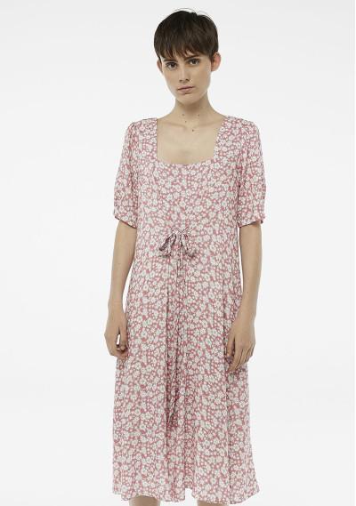 Flower doodle dress