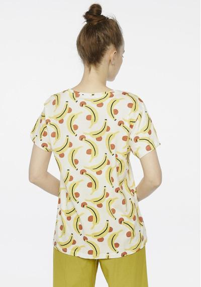 Banana print t-shirt -  Compañía Fantástica