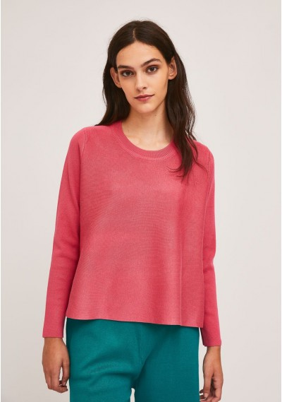 Pink A-line ribbed...