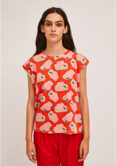 Cotton t-shirt with pepper...