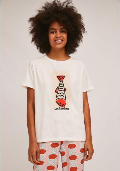 Maglietta di cotone stampa...