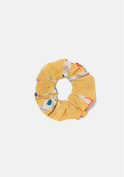 BEACHWEAR   Elasticated scrunchie with rocket print -  Compañía Fantástica