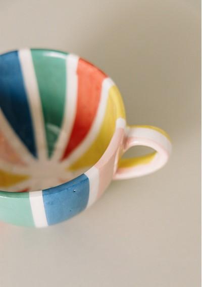 Breakfast ceramic mug with...
