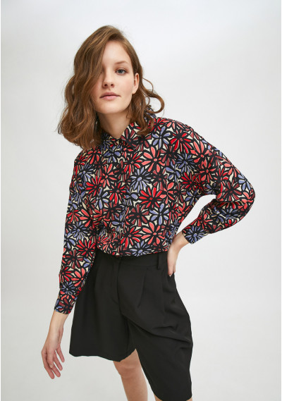 Floral daisy print dropped...