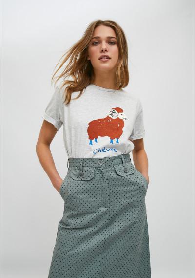 T-shirt a maniche corte con...