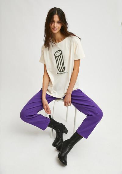 Camiseta de manga corta con...