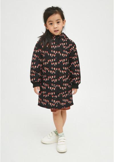 Toadstool print unisex padded husky coat -  Compañía Fantástica