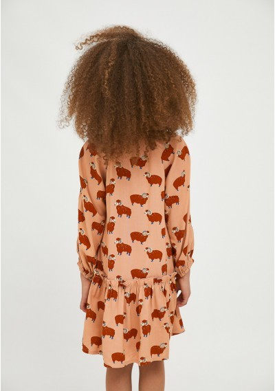 Ram print girl's shirt dress -  Compañía Fantástica