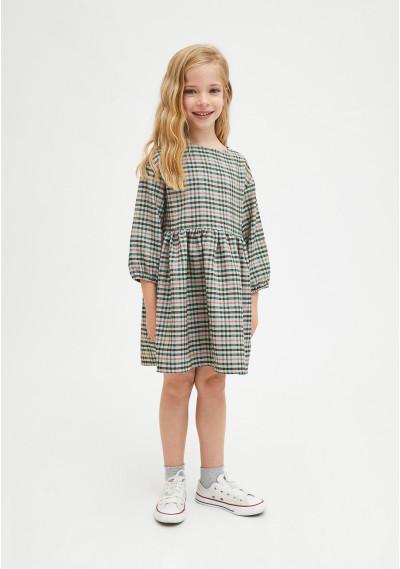 Vestido de niña con corte...