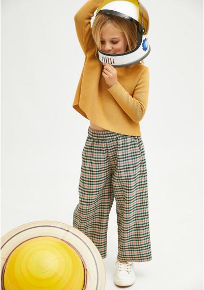 Maglione da bambina svasato...