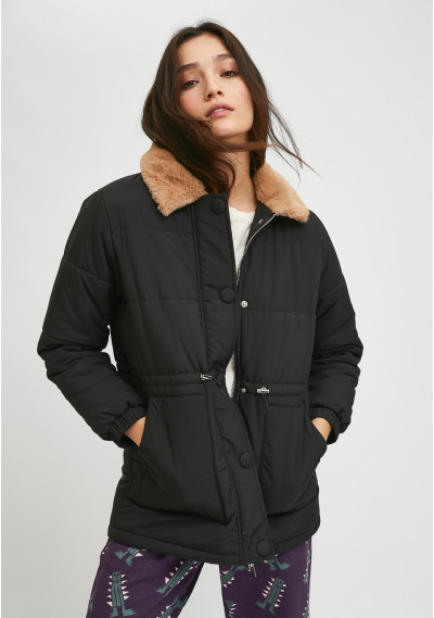 Adjustable padded coat with...